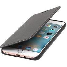 Stilgut Book Type Case nappa ohne für iPhone 6S Plus , schwarz