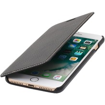 Stilgut Book Type Case ohne Clip für iPhone 7 Plus, schwarz