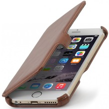 Stilgut Hülle UltraSlim V2 für Apple iPhone 6, cognac vintage