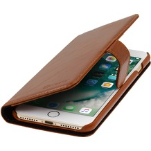 Stilgut Talis für Apple iPhone 7 Plus, cognac