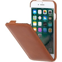 Stilgut UltraSlim Case für Apple iPhone 7, cognac
