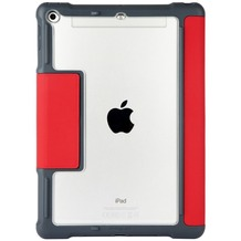 STM STM Dux Case, Apple iPad 9,7 (2017 & 2018), rot/transparent, STM-222-160JW-29