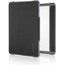 STM STM Dux Case, Apple iPad mini 4, schwarz/transparent, STM-222-104GZ-01