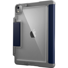 STM Dux Plus Case, Apple iPad Air 10,9 (2020), midnight blau/transparent, STM-222-286JT-03