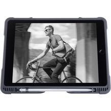 "STM Dux Plus DUO Folio Case für Apple iPad 9,7"" 5./6. Gen. (2017 & 2018), schwarz/transparent"