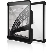 STM STM Dux Shell Case, Apple iPad Pro 9,7 (2017), schwarz/transparent, STM-222-127JX-01