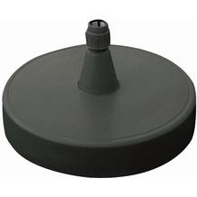 Sun Garden Ständer für Ampelschirm, Kunststoff anthrazit, mit Sand befüllbar, Füllgewicht 150 kg, für Rohrstärken 40-70 mm, Ø 85 cm