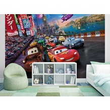 "Sunny Decor Fototapete ""Cars Race"" 254 x 184 cm"