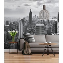 "Sunny Decor Fototapete ""NYC Black And White"" 368 x 254 cm"