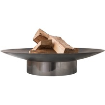 SvenskaV Design Feuerschale GRACE M Rohstahl - Ring Rohstahl