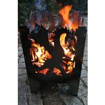 SvenskaV Motiv-Feuerkorb Drache, L