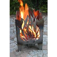 SvenskaV Motiv-Feuerkorb Flamme, L