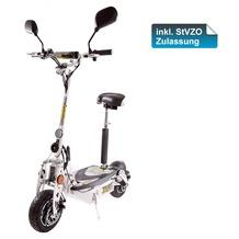 SXT-Scooters SXT1000 XL EEC Elektro Scooter Modell mit 1000 Watt & Straßenzulassung weiß 48V 30Ah Li-Ion Lithium Akku