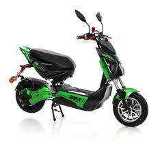 SXT-Scooters Raptor 1200 Elektroroller 2 Sitzer mit 1200W Nabenmotor schwarz/grün