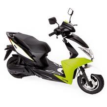 SXT-Scooters Viper Elektroroller sportlicher Zweisitzer mit 2000W brushless Nabenmotor neongrün