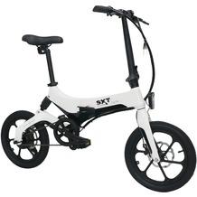 SXT-Scooters Velox, faltbares Pedelec mit Magnesiumrahmen, weiß