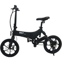 SXT-Scooters Velox, faltbares Pedelec mit Magnesiumrahmen, schwarz