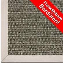 Astra Outdoor/Küchenteppich Sylt Design 801 nerz Farbe 065 Wunschmaß mit Polypropylen-Bordüre