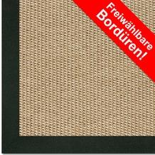 Astra Outdoor/Küchenteppich Sylt Design 803 beige Farbe 001 Wunschmaß mit Polypropylen-Bordüre