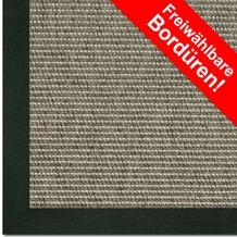 Astra Outdoor/Küchenteppich Sylt Design 803 nerz Farbe 065 Wunschmaß mit Polypropylen-Bordüre