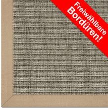 Astra Outdoor/Küchenteppich Sylt Design 807 nerz Farbe 065 Wunschmaß mit Polypropylen-Bordüre