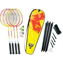 Talbot-Torro Badminton-Set 4-Fighter im Thermobag