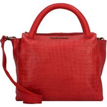 Taschendieb Wien Handtasche Leder 30 cm ruby