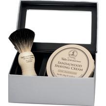 Taylor of Old Bond Street Geschenkbox Dachshaar Rasierpinsel mit Rasiercreme, 150g