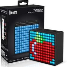 DIVOOM TimeBox Bluetooth Lautsprecher Smart Speaker mit programmierbarer LED-Matrix und App für iOS & Android