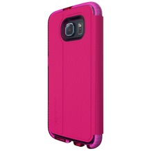 Tech21 Evo Wallet for Galaxy S6 pink