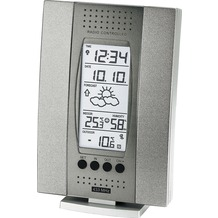 TechnoTrade WS 7014-IT grau Wetterstation