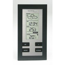 TechnoTrade WS 9215-IT schwarz Wetterstation