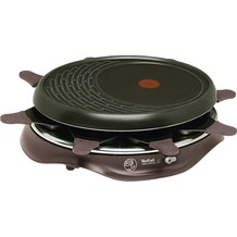 Tefal Raclette Grill Simply Invents 8, cherry black
