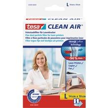 tesa Clean Air Feinstaubfilter für Laserdrucker (L) 140 x 100 mm