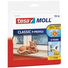tesa Tesamoll P-Profil, 10m, weiß