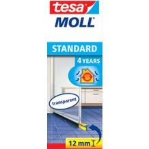 tesa Tesamoll Standard Türdichtungsschiene für glatte Böden, transparent