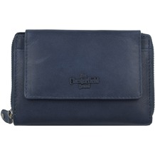 The Chesterfield Brand Ascot Geldbörse RFID Leder 13,5 cm navy
