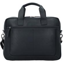 The Chesterfield Brand Calvi Aktentasche Leder 40 cm Laptopfach schwarz