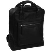 The Chesterfield Brand Davon Rucksack Leder 32 cm Laptopfach schwarz