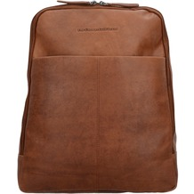 The Chesterfield Brand Dex Rucksack Leder 39 cm Laptopfach cognac