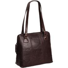 The Chesterfield Brand Elly Schultertasche Leder 30 cm brown