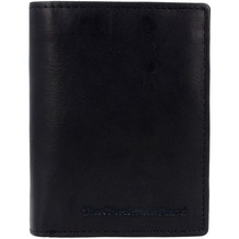 The Chesterfield Brand Hereford Geldbörse Leder 8,5 cm zwart