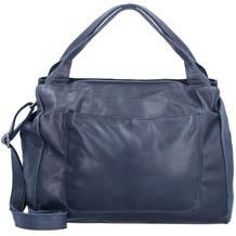 The Chesterfield Brand Cardiff Handtasche Leder 35 cm blau