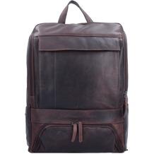 The Chesterfield Brand Rich Rucksack Leder 32 cm Laptopfach brown