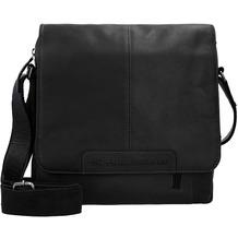 The Chesterfield Brand Raphael Umhängetasche Leder 29 cm black