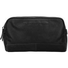 The Chesterfield Brand Stefan Kulturtasche Leder 29 cm zwart