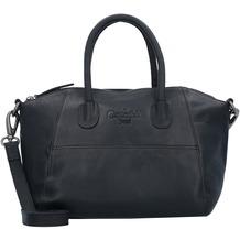 The Chesterfield Brand Trendy Handtasche Leder 25 cm black