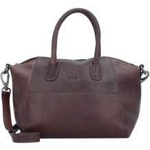The Chesterfield Brand Trendy Handtasche Leder 25 cm brown
