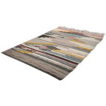 THEKO Handwebteppich Beni Ourain Nomadic-Design multicolor hell 140 cm x 200 cm