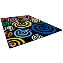 THEKO Happy Color 560 600 schwarz 80 cm x 140 cm